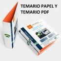 Temario papel + PDF oposición de Policía Local Andalucía 2021