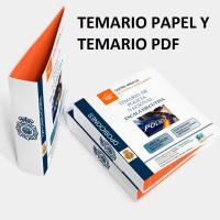 Temario papel + PDF Oposición Escala Ejecutiva de la Policía Nacional 2020